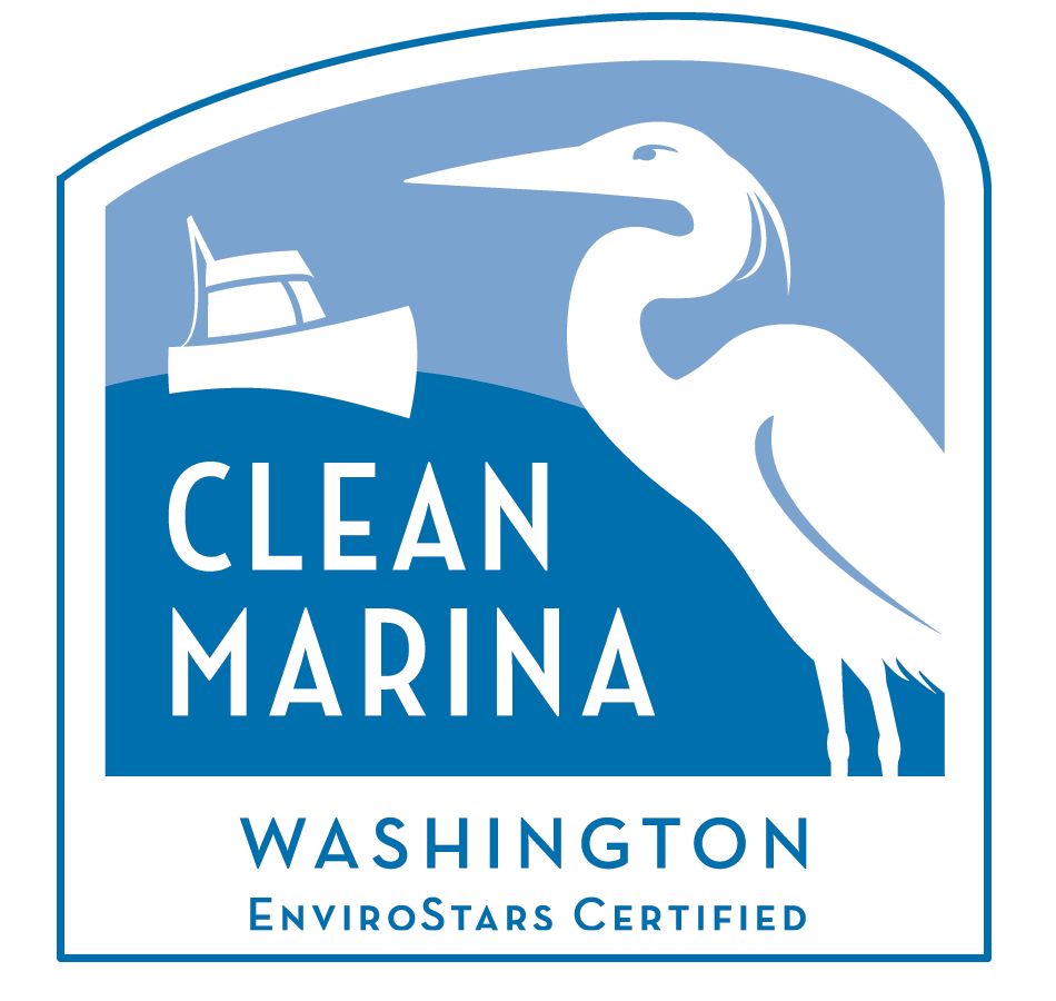 Clean Marina Washington Logo